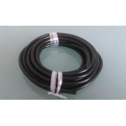 Schlauchleitung H03VV-F 2x0,75mm² PVC-Kabel Schwarz 5m PVC Lampenkabel 2x0,75mm²