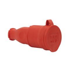 Gummi Kupplung rot IP44