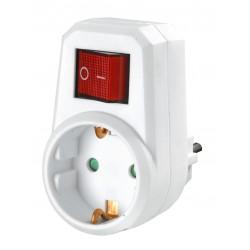 Steckdosen Schalter abschaltbare Steckdose Zwischenstecker Schalter Stecker !