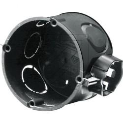 25 x Unterputzdose Schalterdose Gerätedose Verbindungsdose schwarz 60 x 41 mm
