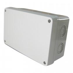 Kabel Abzweigdose Abzweigkasten Aufputz 180x110x70mm Kabeldose AP Grau