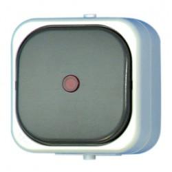 Rev Ritter Aquatop Taster Beleuchtet grau IP44 Profi Qualität