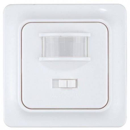 Decken Unterputz Bewegungsmelder 360°Sensor weiß, Unterputz Bewegungsmelder