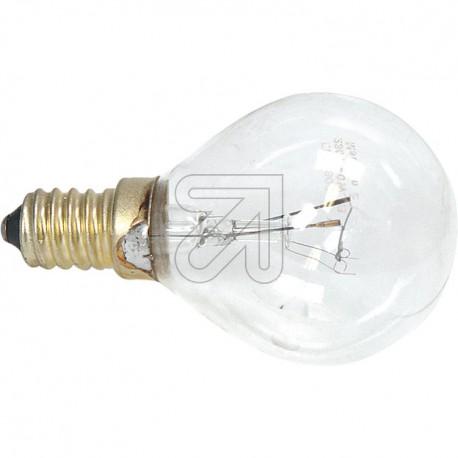Backofenlampe E14 40 Watt klar 395lm Lampe für Backofen Tropfenform E14 bis 300°C
