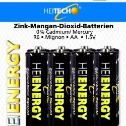 AA ZK Batterien 8 er Pack  AA R6 Mignon Batterien R6 1,5V