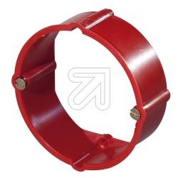 10 x Putz Ausgleichringe 24mm hoch Ø60mm rot bis 650°C