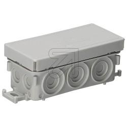 10 x Feuchtraum Kabel Abzweigdose Abzweigkasten Aufputz 89x42x37mm Kabeldose AP Grau