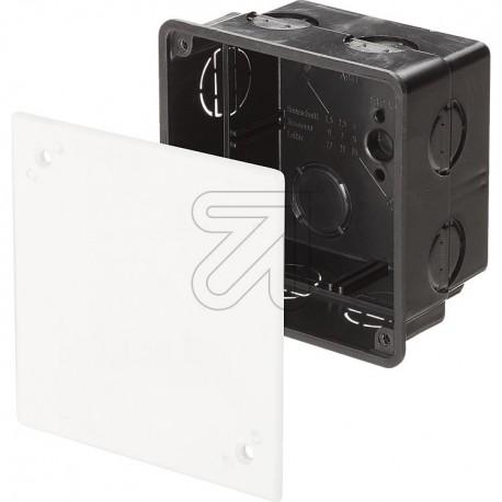 Kabel Abzweigdose Abzweigkasten Aufputz 80x80x50mm Kabeldose AP Grau