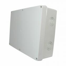 Kabel Abzweigdose Abzweigkasten Aufputz 280x210x90mm Kabeldose AP Grau