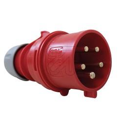 CEE 32A Stecker rot