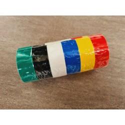 Elektriker Isolierband 6 verschiedene Farben PVC Elektriker Isolierbänder 6 Tlg