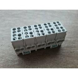 Hauptleitungs-Abzweigklemme 5 Polig 25mm² 5 Polig Hauptleitungs Abzweigklemme