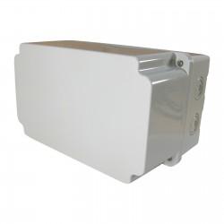 Abzweigkasten Aufputz 220x130x140mm Kabeldose AP Grau