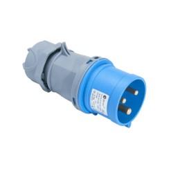 CEE Stecker blau 132A Spritzwassergeschützt