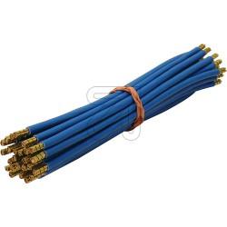 25 x Verdrahtungsbrücken 10mm² 265mm blau