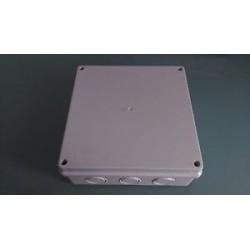 Kabel Abzweigdose Abzweigkasten Aufputz 200x200x80mm Kabeldose AP Grau