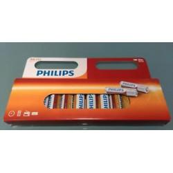 Philips AA Batterien R6 Mignon 12 er Pack AA R6 Mignon Batterien 12 Stück 1,5V