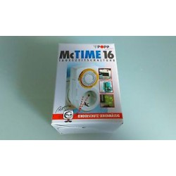 McTime 16 Tageszeitschaltuhr von Popp Zeitschaltuhr Mc Time 16