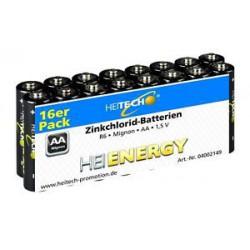 AA ZK Batterien 16 er Pack 16 Stück AA R6 Mignon Batterien R6 16 Stück 1,5V !