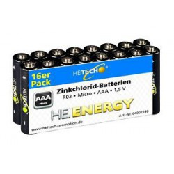 AAA ZK Batterien 16 er Pack 16 Stück AAA R03 Micro Batterien R03 16 Stück 1,5V !