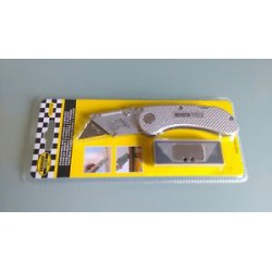 Teppichmesser klappbarer Cuttermesser Kartonmesser inkl. 5 Ersatzklingen !