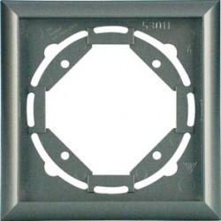 1 Fach Rahmen Titan grau