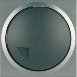 Düwi Terraluxe Titan Grau Helligkeitsregler Dimmer für NV Halogen und Glühlampe