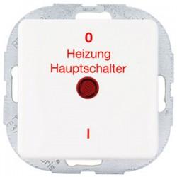 Düwi Aquakombi Taster Beleuchtet weiß, Feuchtraum Taster Beleuchtet weiß IP44 !
