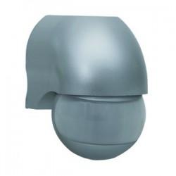 Rev Bewegungsmelder 180 Grad IP44 Silber Bewegungsmelder für Außen IP44