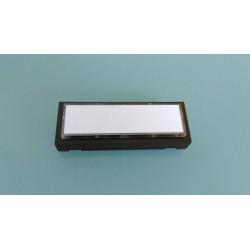 Kontaktplatte, Klingelplatte, Klingeltaster mit Namensschild beleuchtet braun !