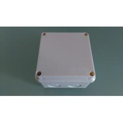 Kabel Abzweigdose Abzweigkasten Aufputz 100x100x70mm Kabeldose AP Grau