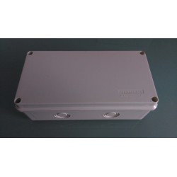Kabel Abzweigdose Abzweigkasten Aufputz 200x100x70mm Kabeldose AP Grau