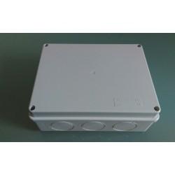 Kabel Abzweigdose Abzweigkasten Aufputz 200x155x80mm Kabeldose AP Grau